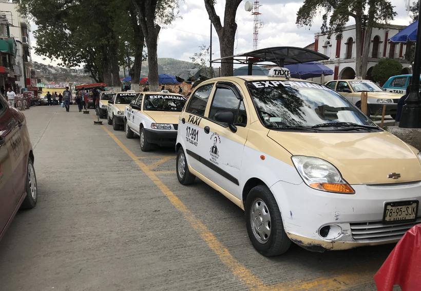 Taxista de Tlaxiaco  buscan ser atendidos  por la Sevitra | El Imparcial de Oaxaca