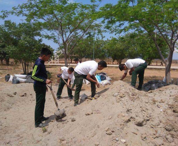 En marcha proyecto para huerto escolar en el Istmo de Oaxaca