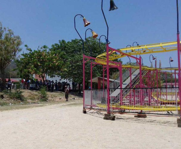Molestia por juegos mecánicos en Salina Cruz, Oaxaca
