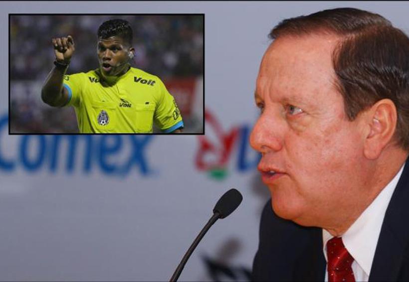 Arbitro afroamexicano es despedido; acusa de racismo a Brizio | El Imparcial de Oaxaca