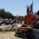 Avanza caravana de damnificados de Oaxaca