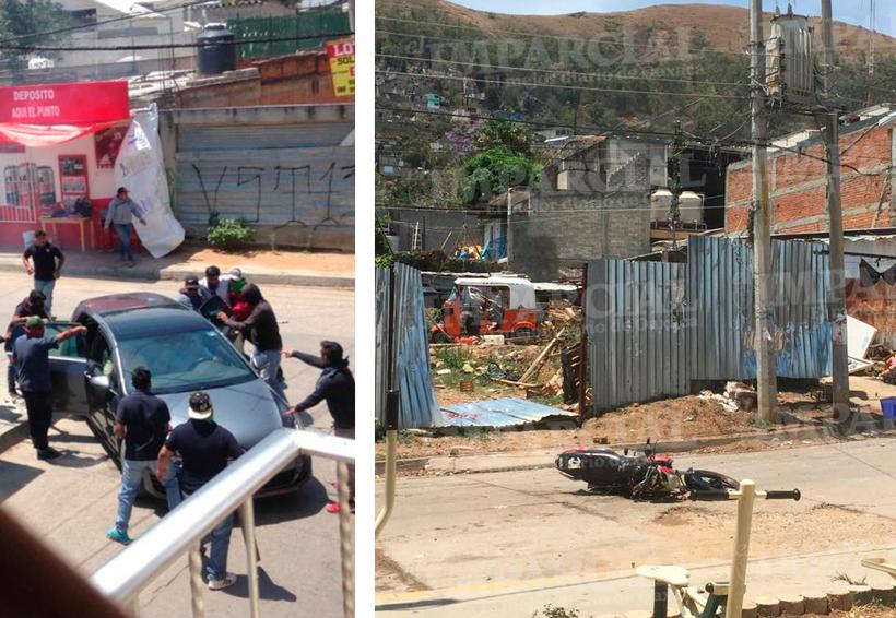 Violento enfrentamiento: mototaxistas en San Juanito, Oaxaca | El Imparcial de Oaxaca