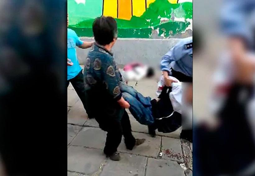 ¡Terrible matanza en China! mueren 9 niños en brutal ataque con cuchillo | El Imparcial de Oaxaca
