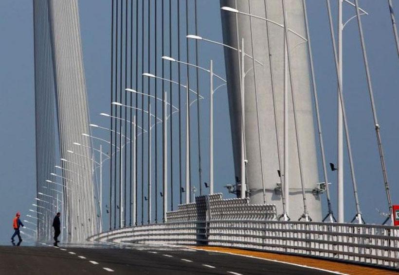 El puente marítimo más largo del mundo estará en China | El Imparcial de Oaxaca