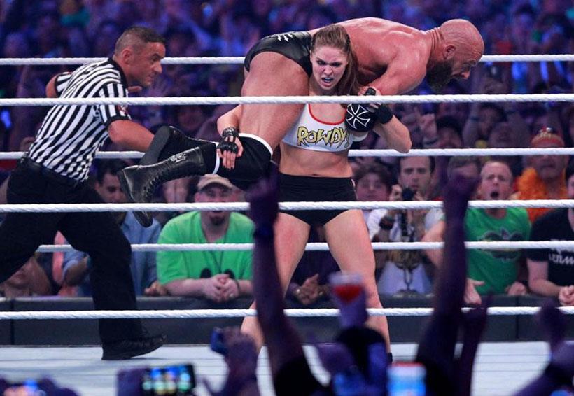 Se celebra Wrestlemania 34 y Ronda Rousey debuta en WWE | El Imparcial de Oaxaca