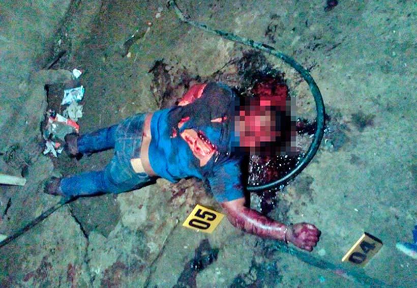 Masacrado a machetazos   El Imparcial de Oaxaca