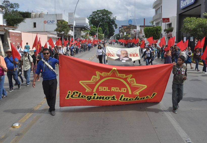 Eclipsa Sol Rojo zona norte de la capital de Oaxaca | El Imparcial de Oaxaca