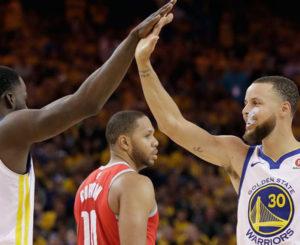Golden State destroza a los Rockets