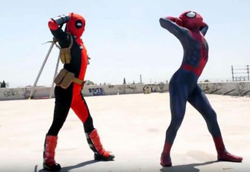 Video: Spider-man y Deadpool te enseñan a bailar | El Imparcial de Oaxaca