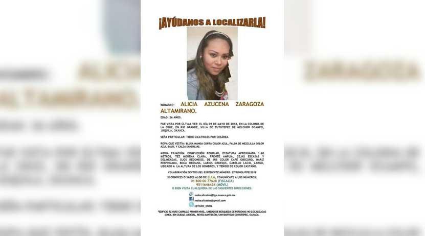 Continúa búsqueda de joven desaparecida en Santiago Pinotepa Nacional, Oaxaca | El Imparcial de Oaxaca