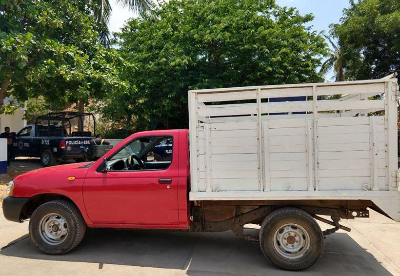Aseguran camioneta robada en el Istmo   El Imparcial de Oaxaca