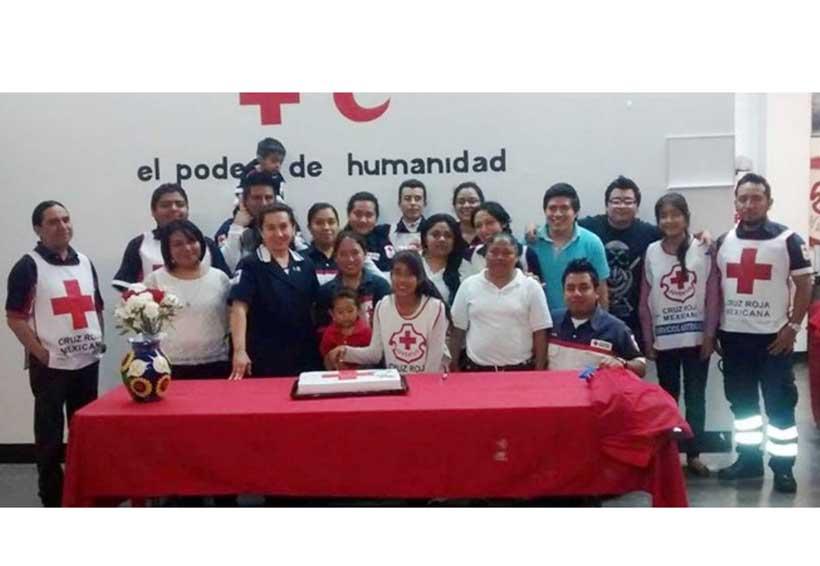 Celebran el Día de la Cruz Roja en la Mixteca de Oaxaca