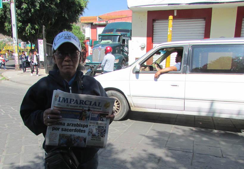 Día del Voceador causa desorganización en Oaxaca