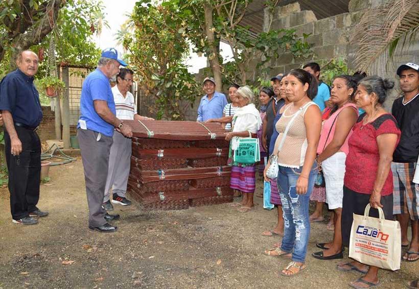 Damnificados de la Costa reciben donativos | El Imparcial de Oaxaca