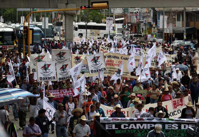 Exigen acabar con  marchas y plantones en Oaxaca