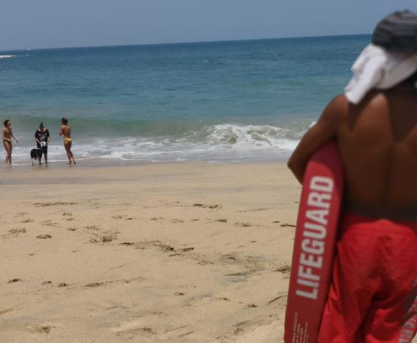 Persiste mar de  fondo en la Costa de Oaxaca