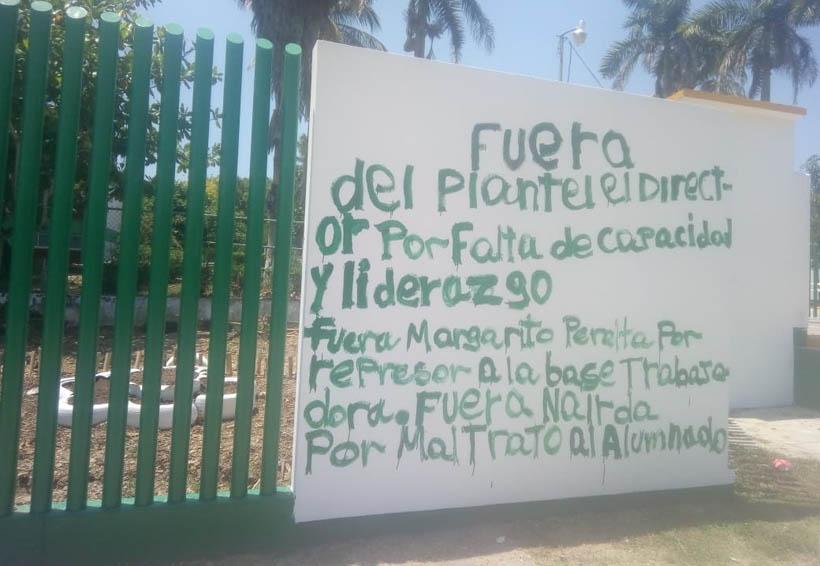 Integrantes de la S-22 toman el Tecnológico de la Cuenca | El Imparcial de Oaxaca