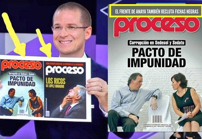 Ricardo Anaya elimina de portada de Proceso señalamientos críticos a su campaña | El Imparcial de Oaxaca
