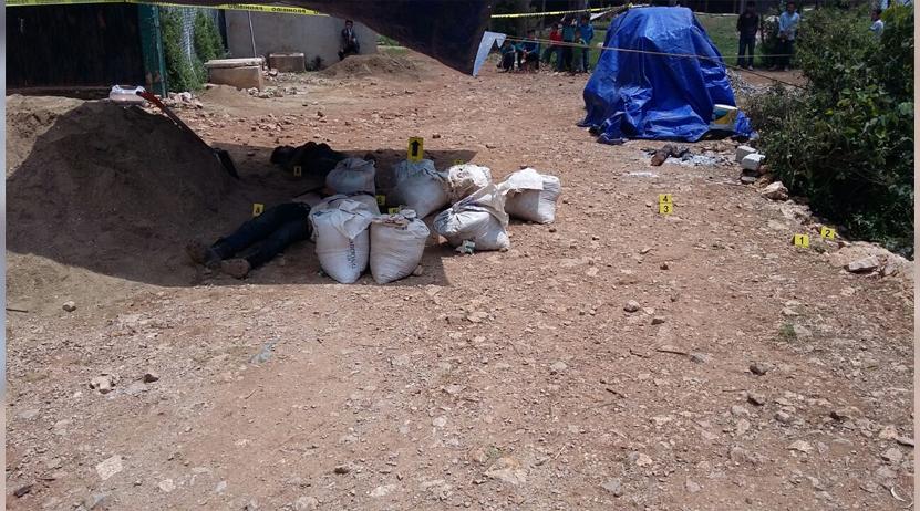 Buscan a asesinos de dos jóvenes en San Andrés Lovene en Miahuatlán | El Imparcial de Oaxaca