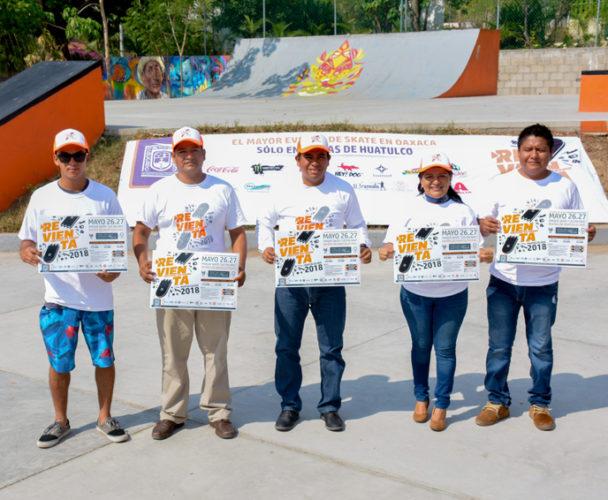 Realiza el segundo  serial Skateboarding en la Costa de Oaxaca