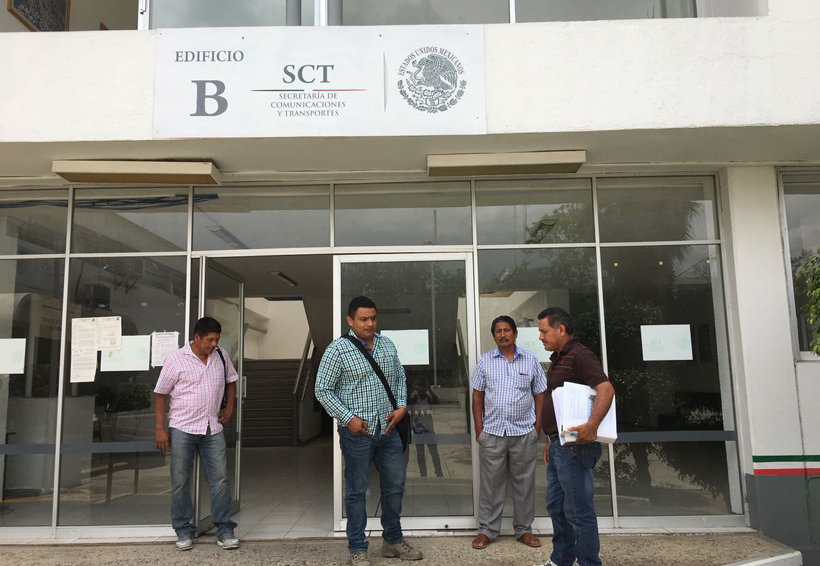 Segego y SCT dejan plantados a  líderes de Puedes; tomarán acciones | El Imparcial de Oaxaca
