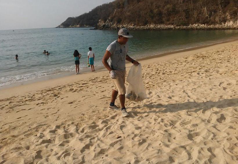 Sin bolsas de plástico; Huatulco sustentable