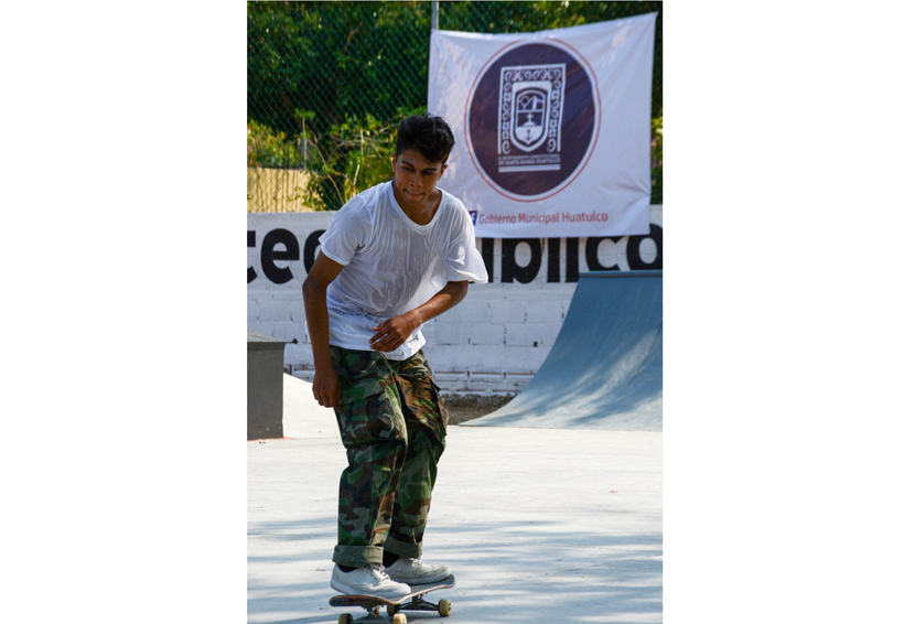 Skateboard Revienta Huatulco, rumbo a Tokyo 2020