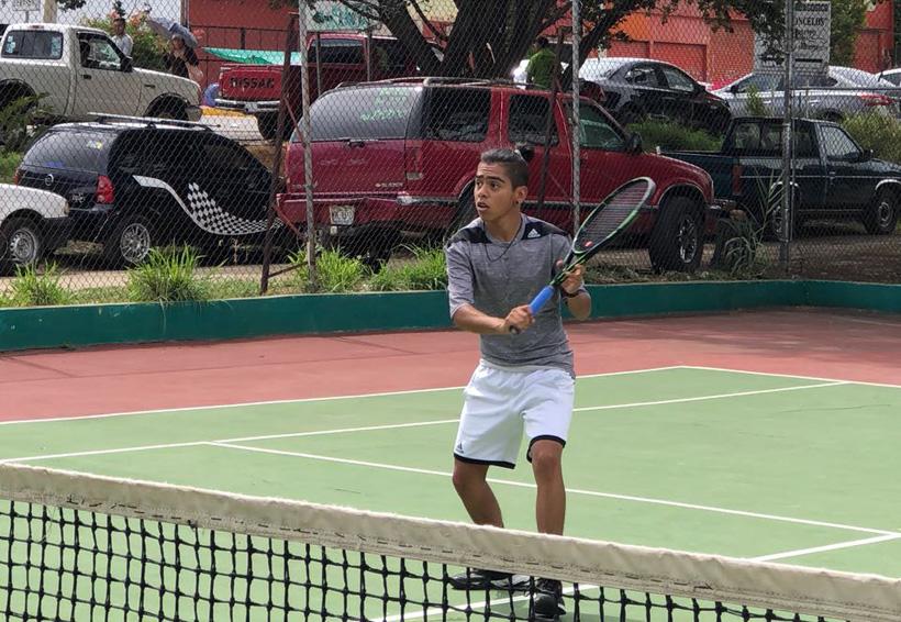 Erick Martínez, la nueva promesa del tenis oaxaqueño | El Imparcial de Oaxaca