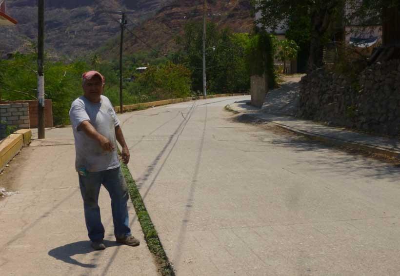 Vecinos de Cuicatlán exigen atención a  las calles principales | El Imparcial de Oaxaca