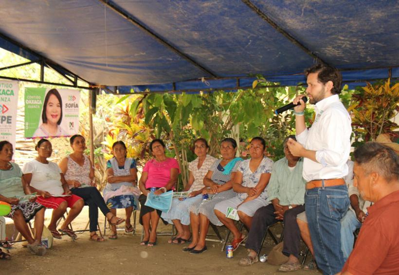 Se suman Lajarcia y San Bartolo Yautepec al proyecto de Pepe Estefan