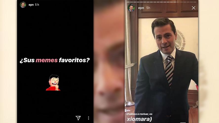 Video: Peña Nieto responde en Instagram sobre memes, gel y preguntas personales | El Imparcial de Oaxaca