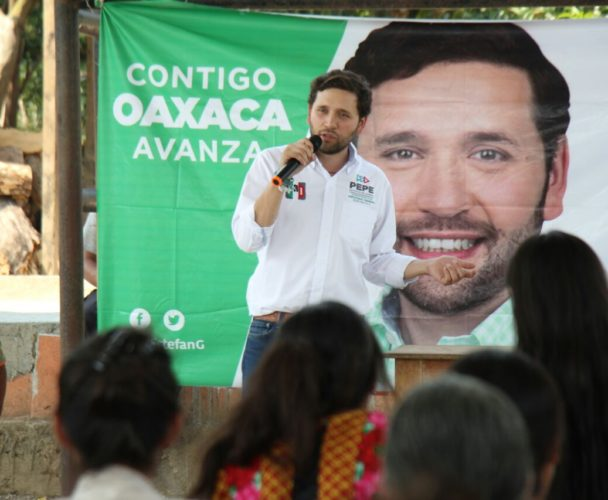 Recorre Pepe Estefan la Sierra Mixe zapoteca