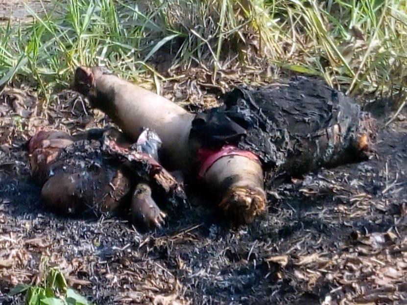 ¡Mutilado y quemado! | El Imparcial de Oaxaca