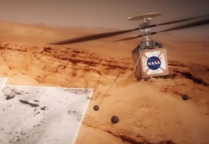 La NASA anuncia la llegada de un helicóptero mini a Marte en 2022 | El Imparcial de Oaxaca