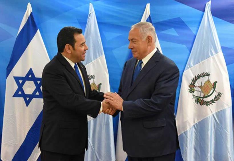 Guatemala abre su embajada en Israel | El Imparcial de Oaxaca