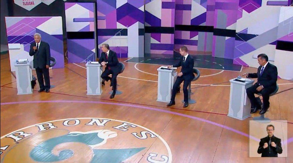 Supera segundo debate al primero en audiencia. Noticias en tiempo real