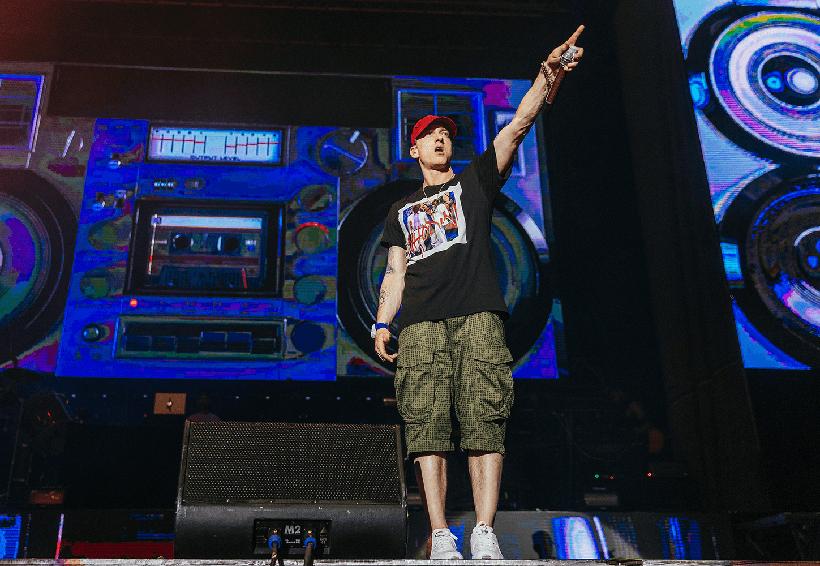 Causa polémica sonido de disparos en concierto de Eminem | El Imparcial de Oaxaca