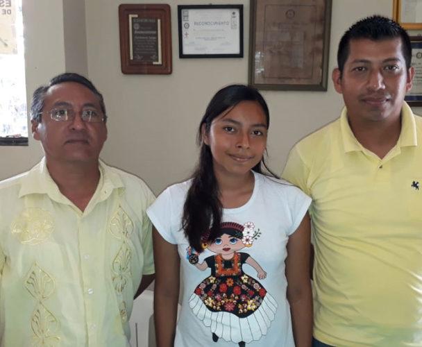 Estudiante del Cbtis  de Tuxtepec al nacional de Historia