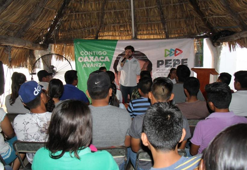 Legislar a favor de los jóvenes, compromiso de Pepe Estefan