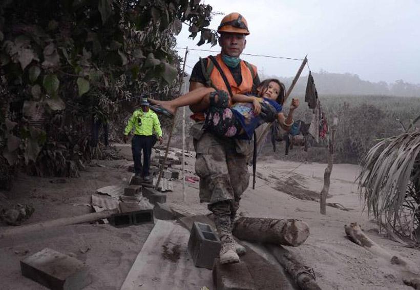 México recibe a otros dos heridos por explosión de volcán en Guatemala | El Imparcial de Oaxaca