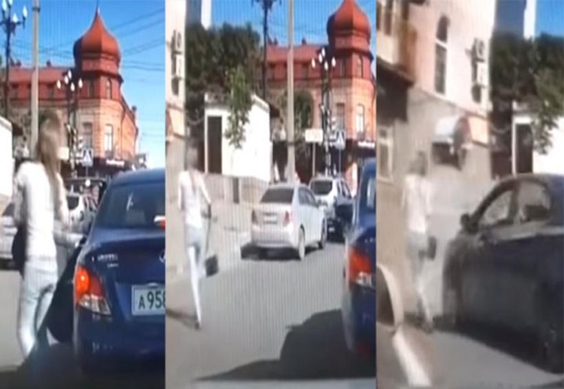 Video: Atropella a su esposa por pedirle el divorcio | El Imparcial de Oaxaca