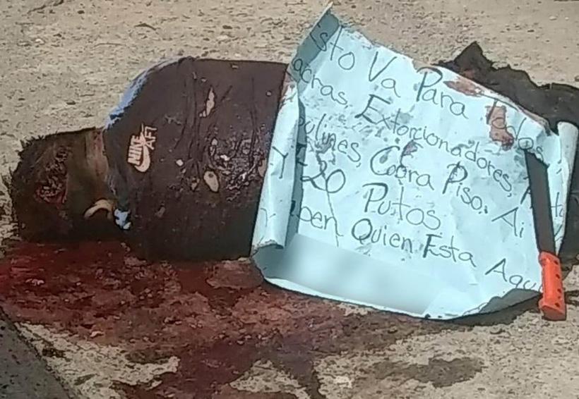 Acribillado en Jalapa de Díaz; dejaron cartulina con amenazas | El Imparcial de Oaxaca