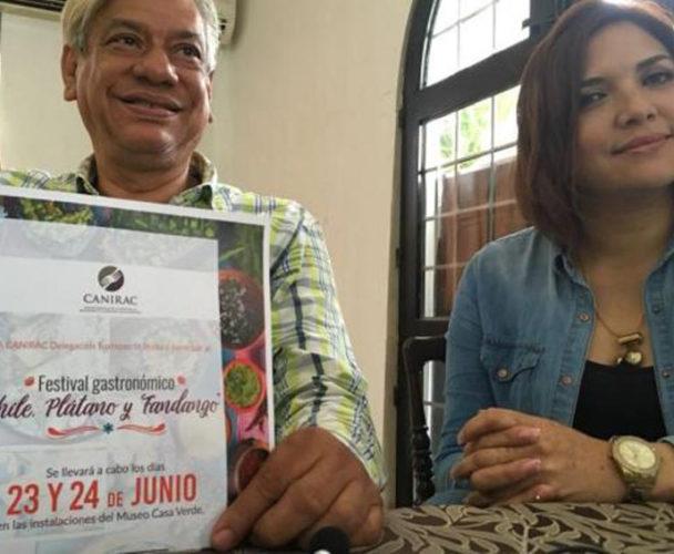 Éxito total el festival  del Chile y el plátano en la Cuenca de Oaxaca