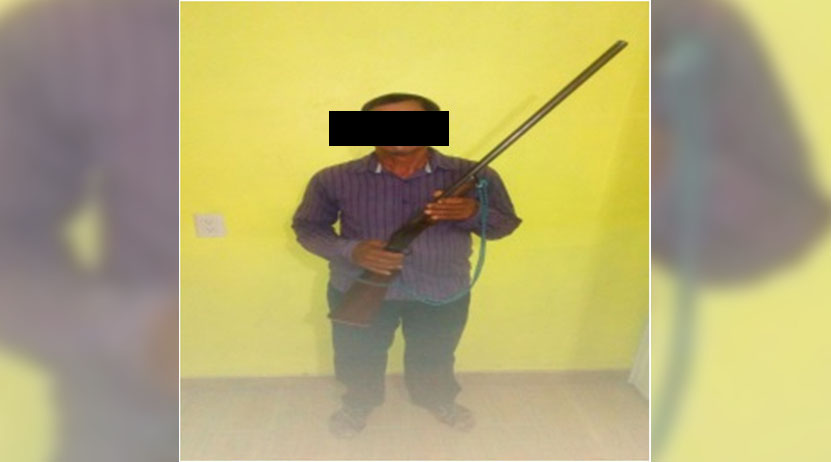 Detienen a sujeto armado en Juchitán Oaxaca | El Imparcial de Oaxaca