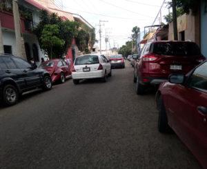 Advierten inseguridad  en calles del populoso  Barrio de Jalatlaco