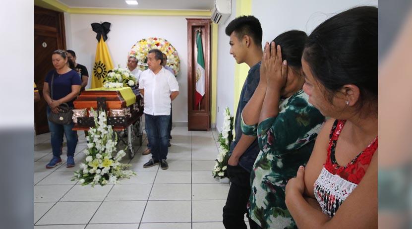 Da la vida por su candidato; muere Heber Román Juárez | El Imparcial de Oaxaca