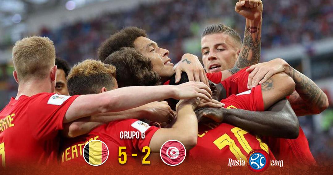 Bélgica derrota a Túnez; a un paso de octavos   El Imparcial de Oaxaca