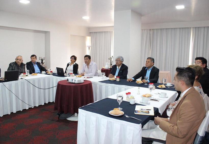 Se reúne Raúl Castellanos con el Centro Patronal de Oaxaca | El Imparcial de Oaxaca