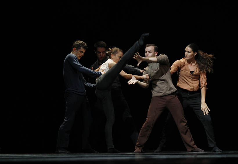 Con gran éxito se presenta Budapest Dance Theater