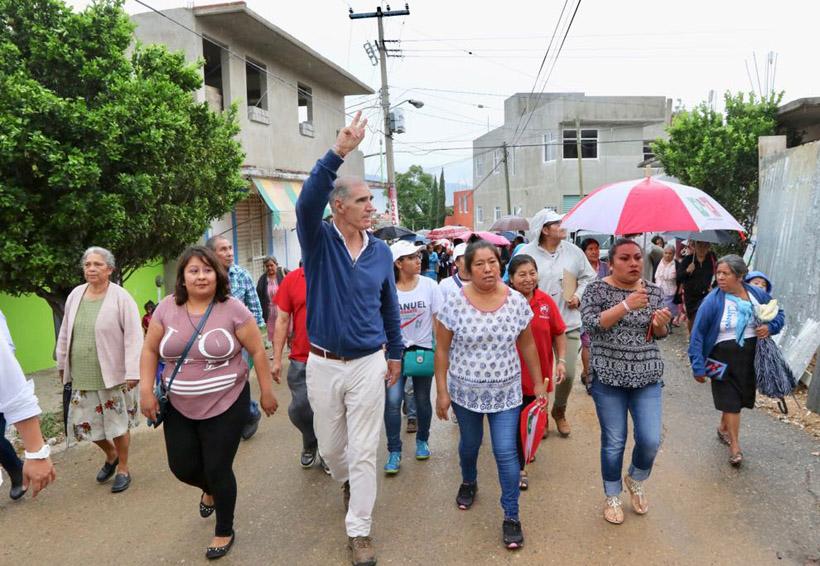 Rescate de espacios públicos, entre las prioridades de Manuel de Esesarte | El Imparcial de Oaxaca